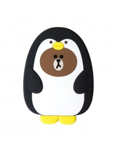 [LINE FRIENDS Goods] Pengo Brown Hand Mirror