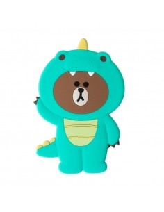 [LINE FRIENDS Goods] Dino Brown Hand Mirror