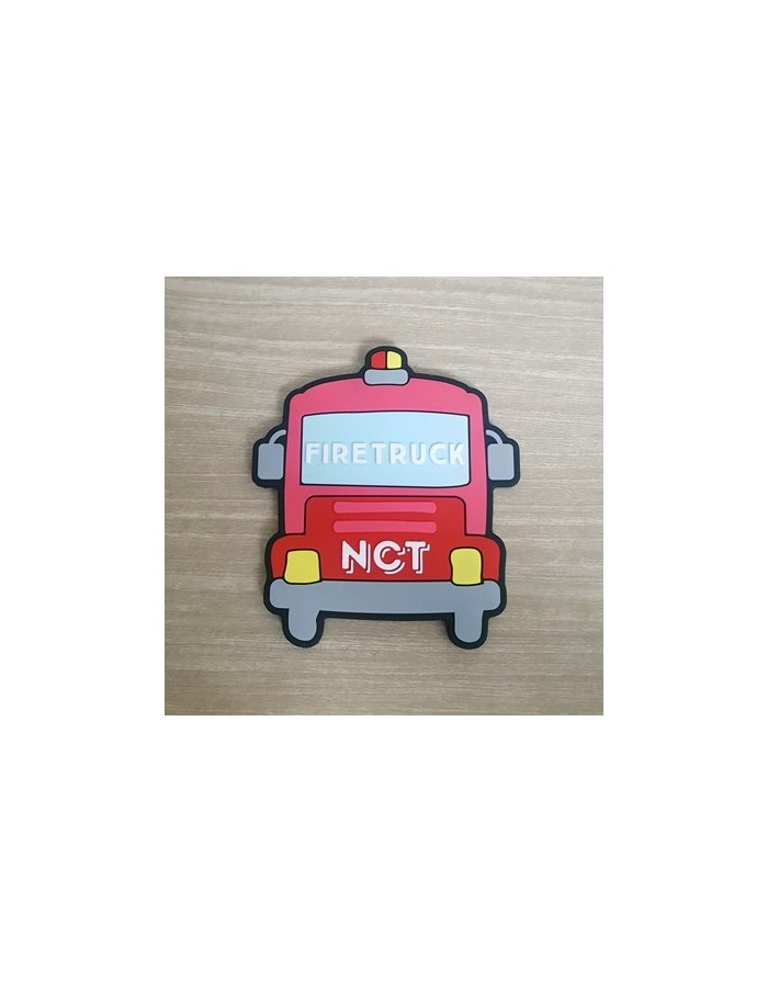 NCT127 Stationery Portable Mirror - FIRE TRUCK Version