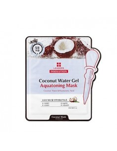 [Leaders] INSOLUTION Coconut Water Gel Aquatoning Mask SET ( 5Sheets )