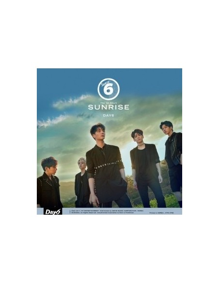 DAY6 1st  Album - SUNRISE CD + POSTER