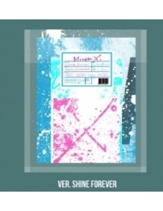 MONSTA X 1st Album Repackage - SHINE FOREVER (MAINL A ver.) CD + 2Posters