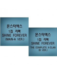 [SET] MONSTA X 1st Album Repackage - SHINE FOREVER (A + B ver.) 2 CD + 2 Posters