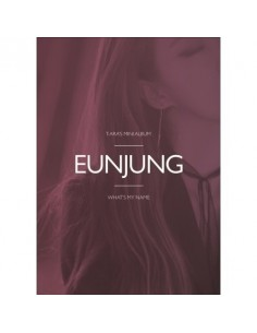 T-ARA 13st Mini Album - WHAT'S MY NAME? (EUNJUNG Ver) CD + Poster