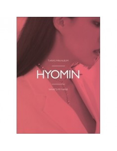 T-ARA 13st Mini Album - WHAT'S MY NAME? (HYOMIN Ver) CD + Poster