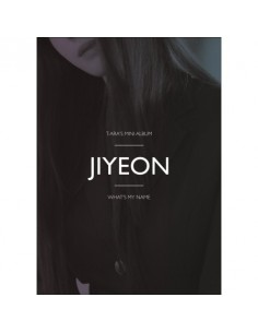T-ARA 13st Mini Album - WHAT'S MY NAME? (JIYEON Ver) CD + Poster