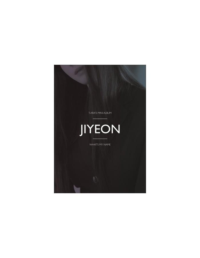 T-ARA 13st Mini Album - WHAT'S MY NAME? (JIYEON Ver) CD + Poster