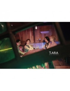 T-ARA 13st Mini Album - WHAT'S MY NAME? CD + Poster