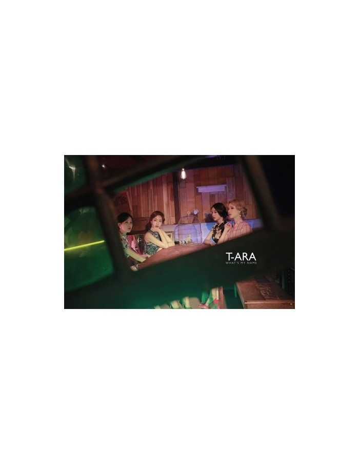 T-ARA 13st Mini Album - WHAT'S MY NAME? CD + Poster