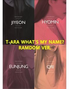 T-ARA 13th Mini Album - WHAT'S MY NAME? [RANDOM Ver] CD + Poster