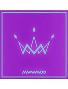 MAMAMOO 5th Mini Album - PURPLE (A Type) CD + Poster