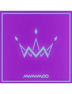MAMAMOO 5th Mini Album - PURPLE (A Type) CD + Poster