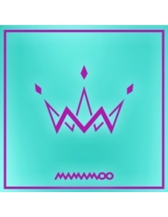 MAMAMOO 5th Mini Album - PURPLE (B Type) CD + Poster