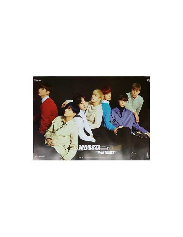 [Poster] MONSTA X 1st DVD - MONTORIES Official Poster