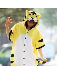 [PJA173] Animal Short Sleeve Pajamas - Tiger