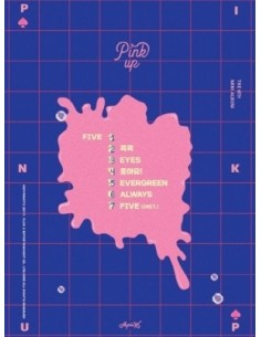 Apink 6th Mini Album - Pink UP (B Ver) CD + Poster