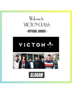 "VICTON 1st Fanmeeting ""Welcome to Victon Class"" Goods :'READY' SLOGAN"