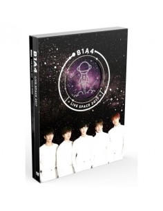 B1A4 - LIVE SPACE 2017 DVD (2 DISC) + POSTER
