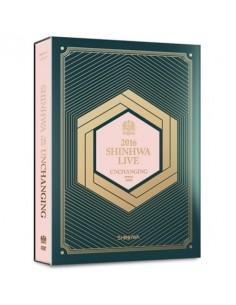 SHINHWA - 2016 SHINHWA LIVE UNCHANGING DVD (2 DISC) + Special Photobook