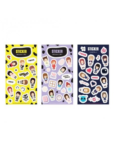 TWICE 1ST TOUR 'TWICELAND -The Opening ENCORE -' Goods : Character Sticker Set [Pre-Order]