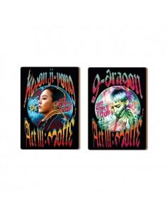 G-DRAGON MOTTE Concert Goods - WOODEN POSTCARD