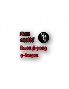 G-DRAGON MOTTE Concert Goods - MAGNET SET