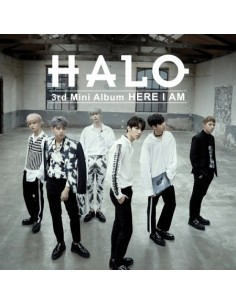 HALO 3rd Mini Album - HERE I AM CD + Poster