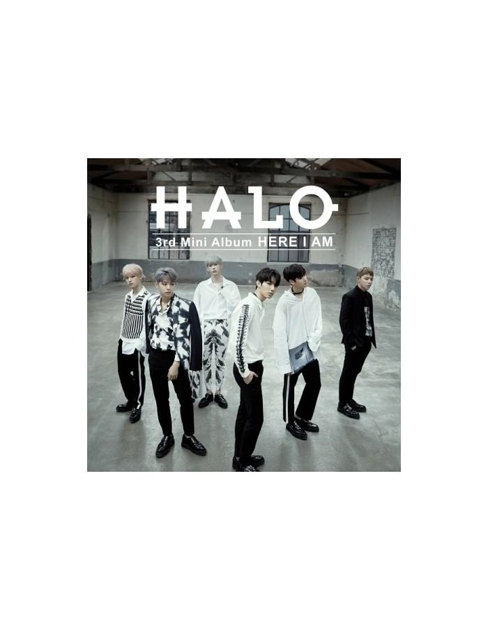HALO 3rd Mini Album - HERE I AM CD + Poster