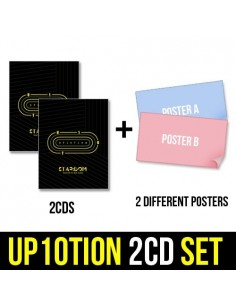 [SET] UP10TION 6th Mini Album - STARDOM 2CDs + 2 Different Posters