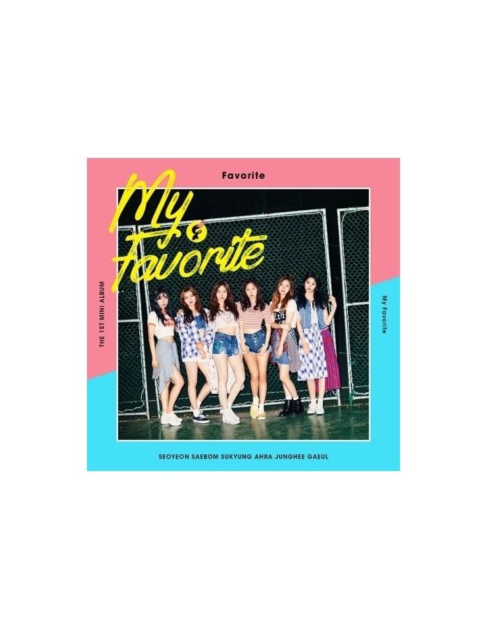 FAVORITE 1st Album - MY FAVORITE CD + Poster