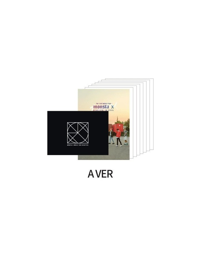 Monsta X - BEAUTIFUL IN SEOUL Goods : Postcards SET