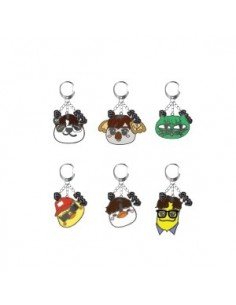 "2PM ""6nights"" Concert Goods - ZooPM keyring (6Kinds)"