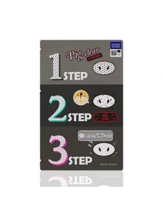 [Holika Holika] Pig-Clear Blackhead 3-Step Kit STRONG