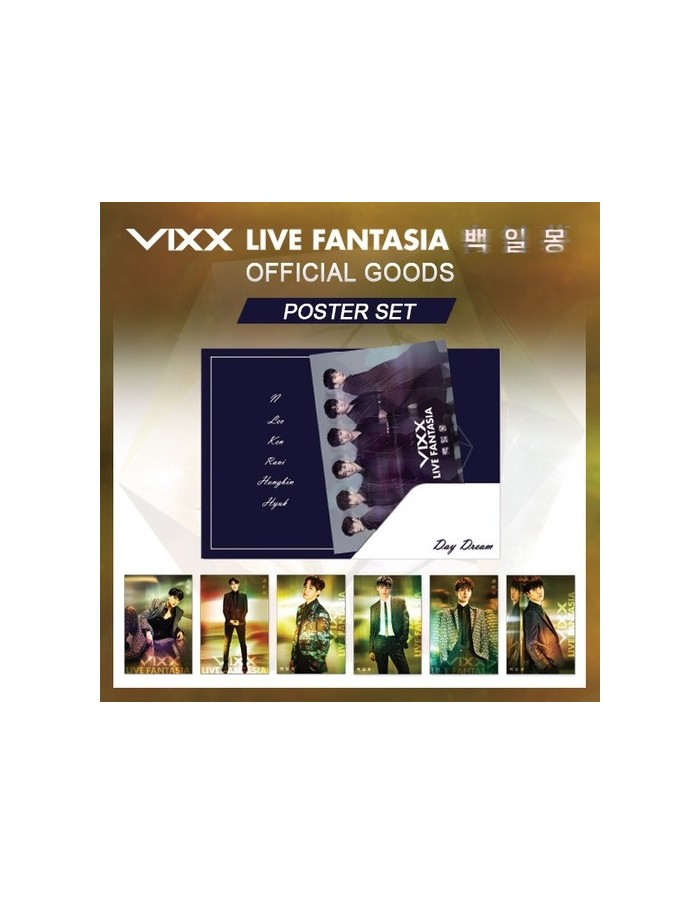 VIXX LIVE FANTASIA 백일몽(Daydream) - Official Poster Set