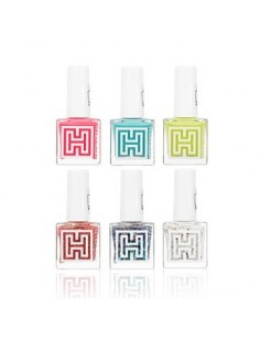 [Holika Holika] Sweet Topping Bar Nail Collection 10ml (6Colors)