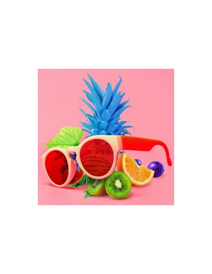 RED VELVET Summer Mini Album - THE RED SUMMER CD + Poster