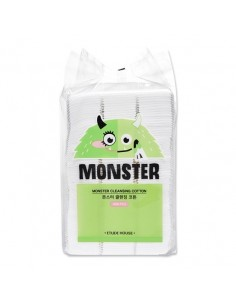 [Etude House] Monster Cleansing Cotton Pads 408p