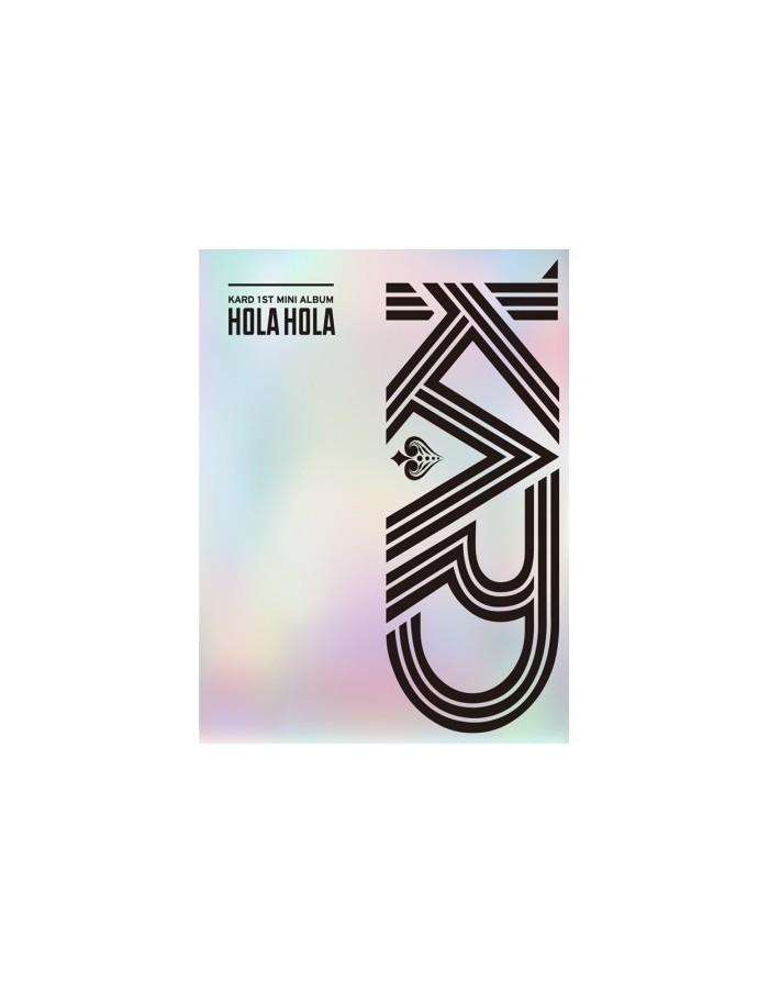 KARD 1st Mini Album - HOLA HOLA CD + Poster
