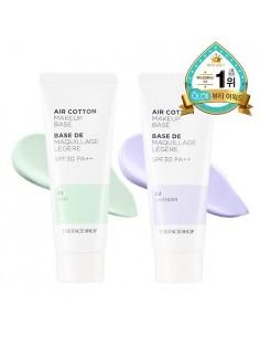 [Thefaceshop] Air Cotton Makeup Base SPF30 PA++ 40g (2Colors)