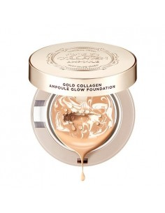 [Thefaceshop] Gold Collagen Ampoule Glow Foundation SPF50+/PA+++ 10g (3Colors)