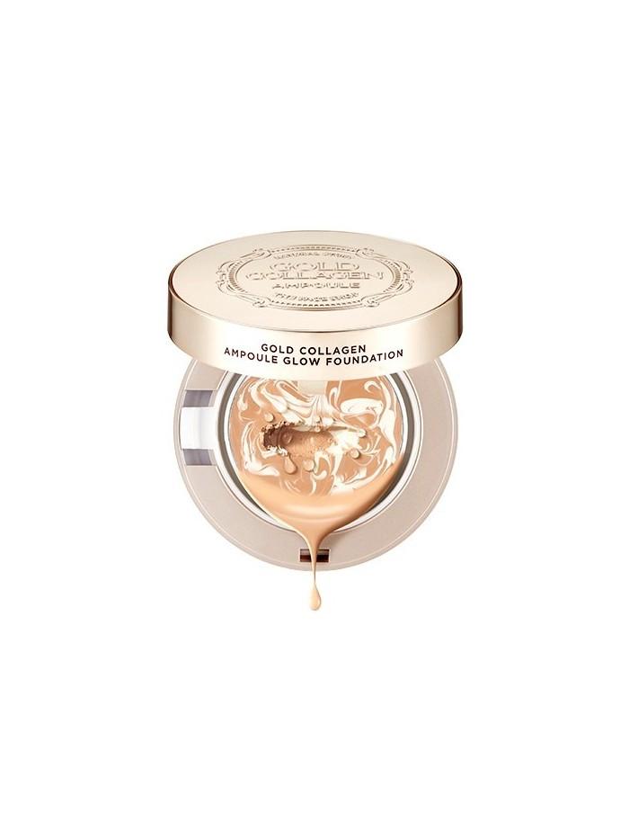 [Thefaceshop] Gold Collagen Ampoule Glow Foundation SPF50+/PA+++ 10g (3Colors)