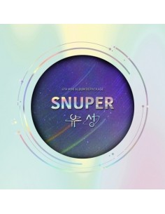 SNUPER 4th Mini Album Repackage - 유성 CD
