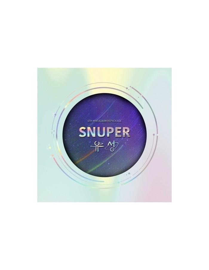 SNUPER 4th Mini Album Repackage - 유성 CD