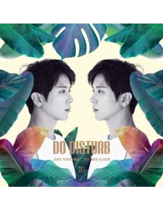 [Nomal Version] JUNG YONG HWA 1st Mini Album - DO DISTURB CD + Poster