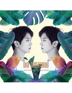 [Nomal Version] JUNG YONG HWA 1st Mini Album - DO DISTURB CD + Poster