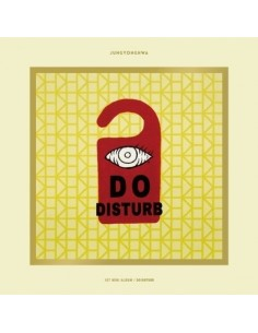[Special Version] JUNG YONG HWA 1st Mini Album - DO DISTURB CD + Poster