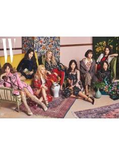 Magazine W Korea 2017-08 (Type.B) Girls Generation(SNSD)