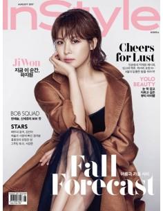 Magazine Instyle 2017-08 Ha Ji Won, Seo Kang Joon