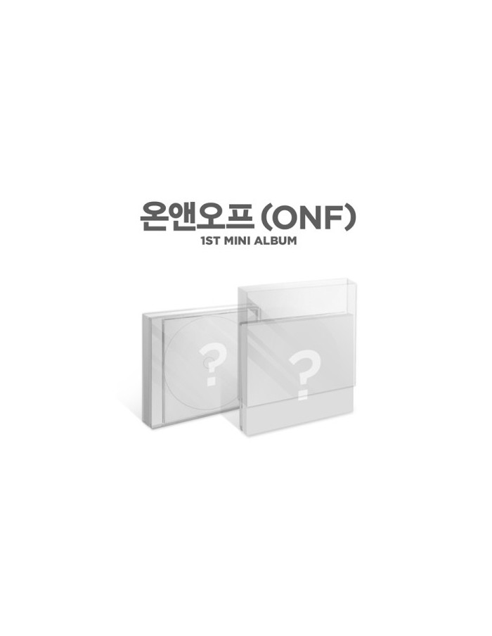 ONF 1st Mini Album - ON/OFF CD + Poster