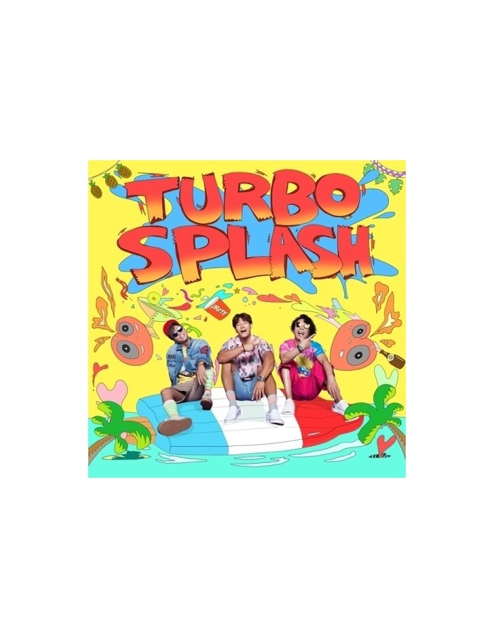 TURBO 1st Mini Album - TURBO SPLASH CD
